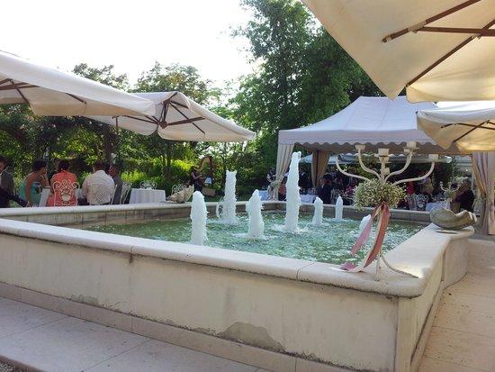 Villa Foscarini Cornaro: giardino