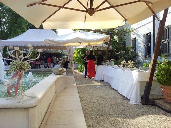 Villa Foscarini Cornaro: buffet