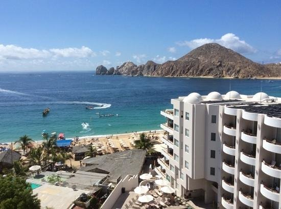 Cabo Villas Beach Resort : beach view