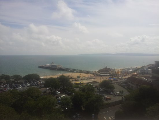 Premier Inn Bournemouth Central Hotel: sea view