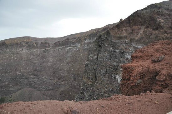 Vesuv: cratere