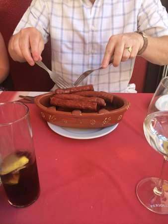 restaurante  A BROA: Chorizo!