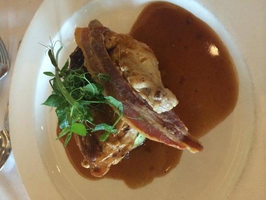 Killyhevlin Lakeside Hotel & Lodges: Chicken & Bacon Main