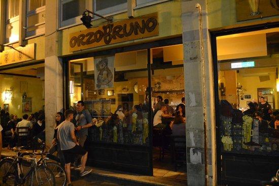 Orzo Bruno : Entrada