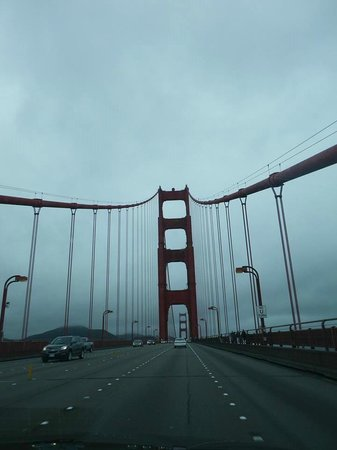 Golden Gate Bridge.