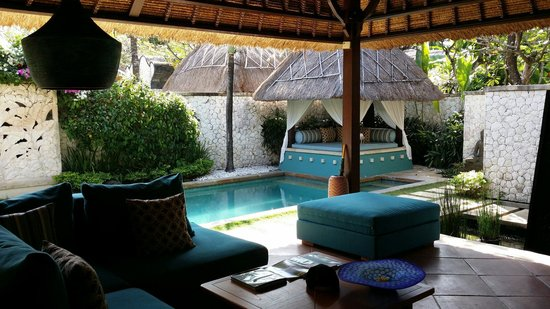 Novotel Bali Benoa : Our pool in the villa
