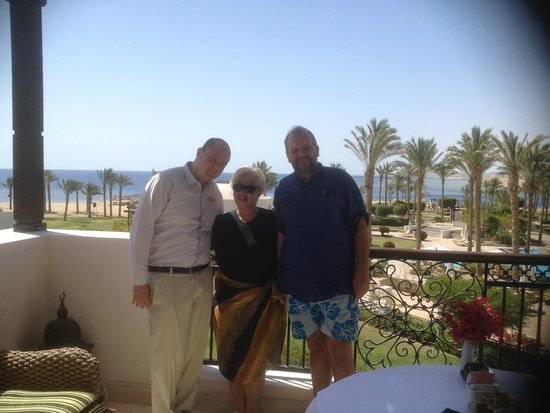 The Palace Port Ghalib : dalla presidential suite con Hassan