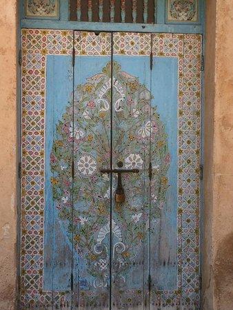 Kasbah des Oudaias : Kasbah door....