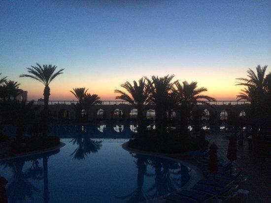 SENTIDO Djerba Beach : Lever du soleil vue de notre chambre
