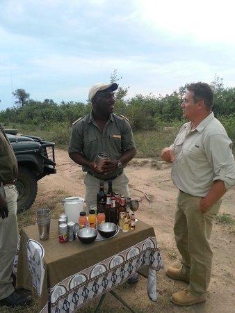 Motswari Private Game Reserve: Harold our ranger