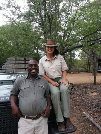 Motswari Private Game Reserve: before going on safari the best smile ever from Harold