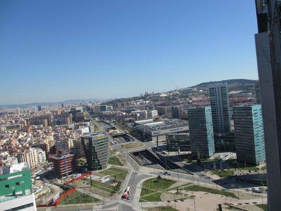 Renaissance Barcelona Fira Hotel : Вид с крыши