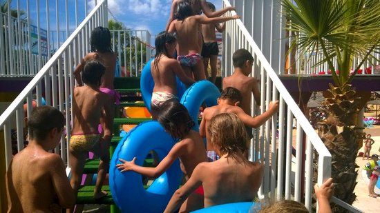 Bahía Park: Special rubber-rings for kids