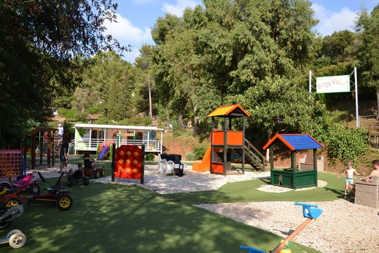 Camping Village Rosselba le Palme: Il parco giochi bimbi
