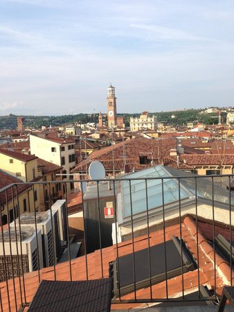 Escalus Luxury Suites Verona: View from roof terrace