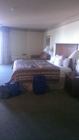 Hotel on the Falls: Room