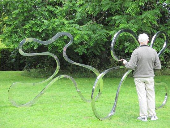 University of Leicester Botanic Garden: Sculpture in the garden
