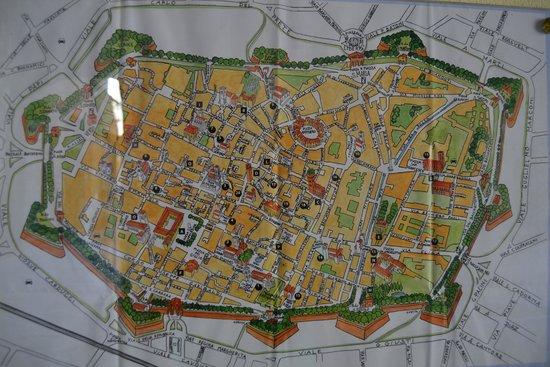 Le mura di Lucca : Plano