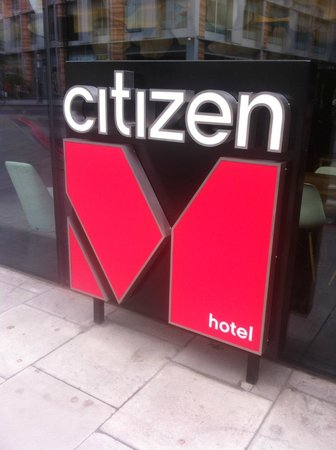 citizenM London Bankside : Hotel Logo