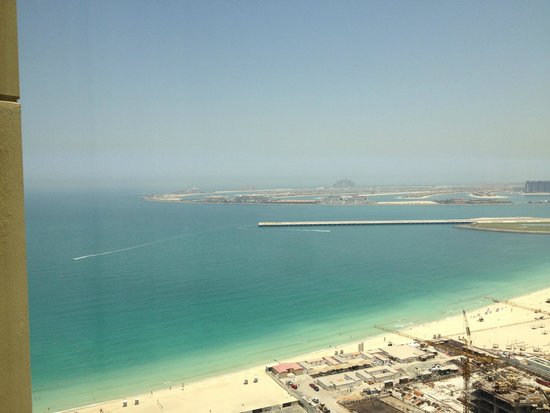 Hilton Dubai The Walk: Seaview from one of the rooms