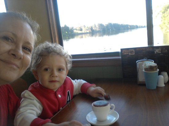 Bennett's on the River : My grandson loves the Babychinos