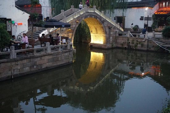 Jiaxing, China: Little small Bridge..