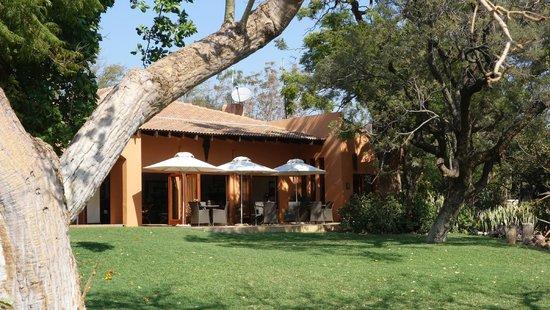 The Bush House - outdoor area