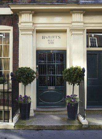 Hazlitt's: Front Door