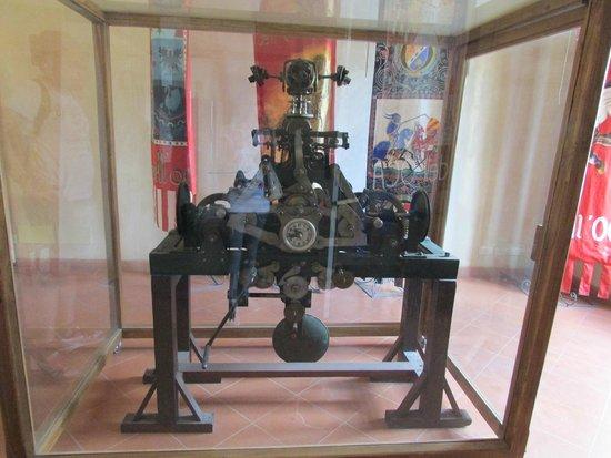 Torre del Moro: Il meccanismo originale dell'orologio