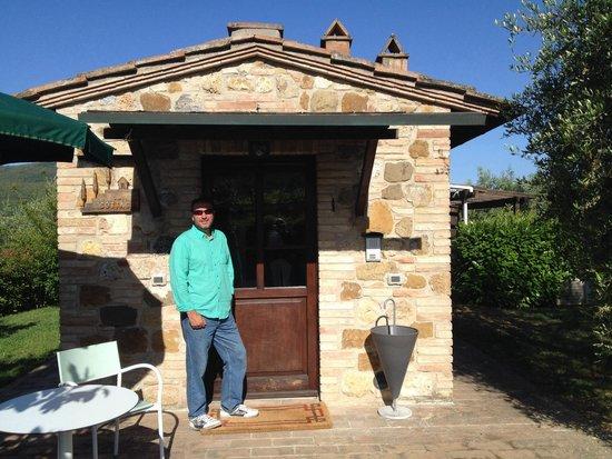 Podere Poggiluglio: Our little cottage