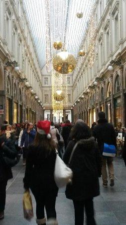 Les Galeries Royales Saint-Hubert : Galeries