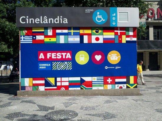 Cinelandia durante el Mundial