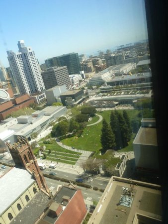San Francisco Marriott Marquis : View from standard room