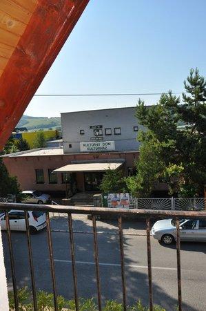 Gemerska Horka, Slovakia: вид из окна