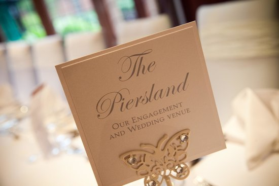 Our Wedding Venue Picture Of Piersland House Restaurant Troon