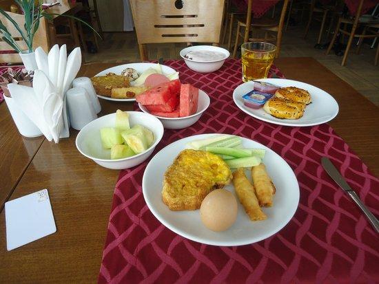 Hotel Evsen : Завтрак