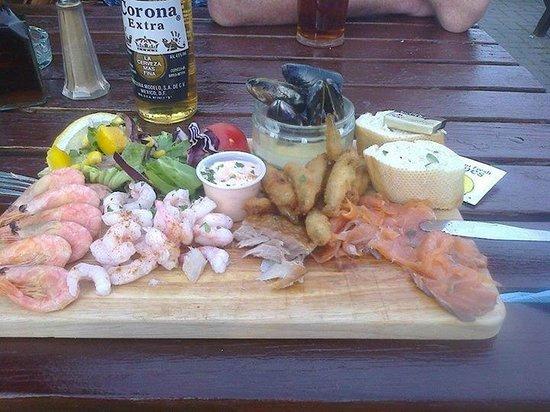 The Coast Inn: Starter Seafood Platter