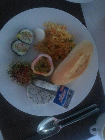 Novotel Nha Trang : Godt utvalg i frokost buffet