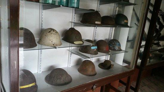 JEATH War Museum: Helmets Used in the War