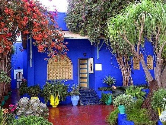 Menara Gardens and Pavilion : Те самые стены цвета индиго!