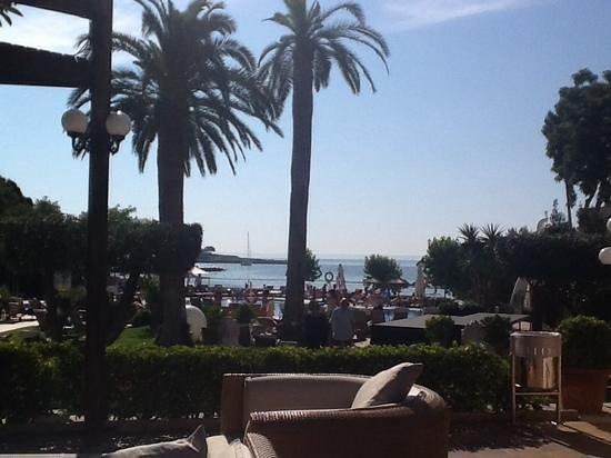 Hotel Son Caliu Spa Oasis: Blick von der Terrasse