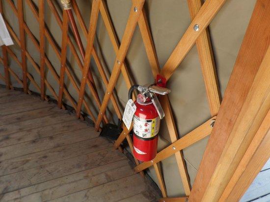 Bothe-Napa State Park: Fire extinguisher