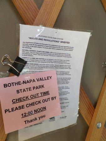 Bothe-Napa State Park: Information