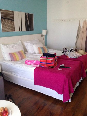 Sunprime Coral Suites: Most comfortable beds yet!