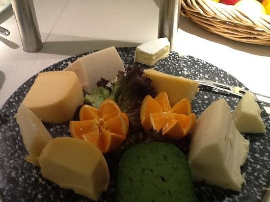 Hotel Son Caliu Spa Oasis: Feiner Käse zum Frühstück