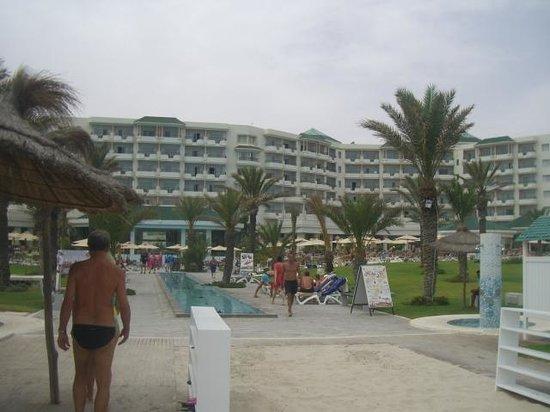 IBEROSTAR Royal El Mansour & Thalasso: Saída da praia
