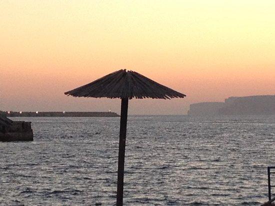 Ramla Bay Resort : Sunset at ramla bay