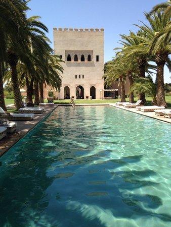 Ksar Char-Bagh : Magnifique piscine