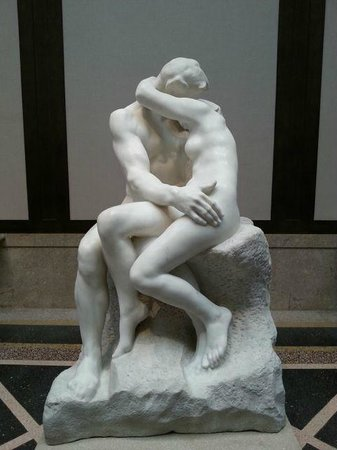 Rodin Museum: Copy of the Kiss