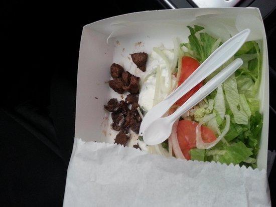 Tasty's Souvlaki and No.1 Burgers: Disgraceful excuse for souvlaki